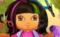 Dora Real Haircut