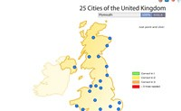 25  Cities Of The UK